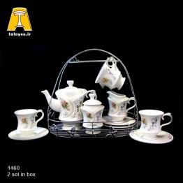 سرامیک نگین دار، سرویس چایخوری 1460-1466