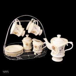 سرامیک نگین دار، سرویس چایخوری
