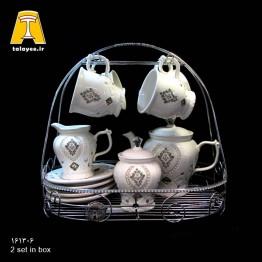 سرامیک نگین دار، سرویس چایخوری 1613-6