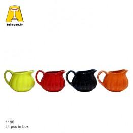 چینی سرامیک سس خوری تپل رنگی 1190bs