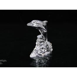 کریستال بوهميا مجسمه دلفين ايستاده