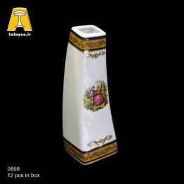 چینی تقدیس لمونژ طلایی گلدان G8