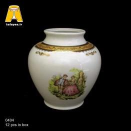 چینی تقدیس لمونژ طلایی گلدان G4