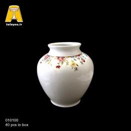چینی تقدیس کاملیا فیروزه ای گلدان G1