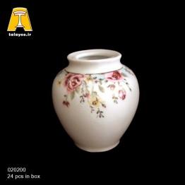 چینی تقدیس کاملیا فیروزه ای گلدان G2