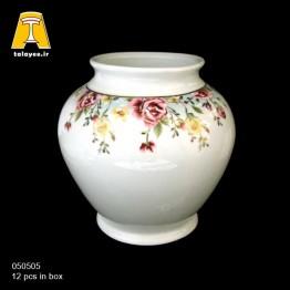 چینی تقدیس کاملیا فیروزه ای گلدان G5