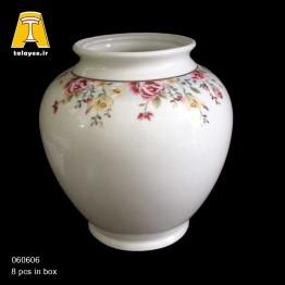 چینی تقدیس کاملیا فیروزه ای گلدان G6