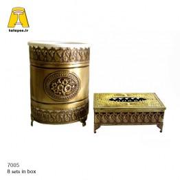 آنتیک سطل و دستمال 7005