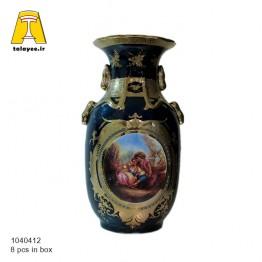 سورمه ای گلدان 12-10404