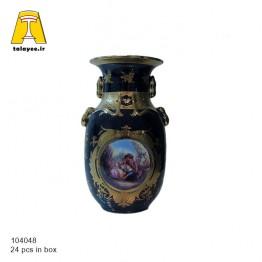 سورمه ای گلدان 8-10404